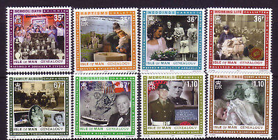 2011 Isle of Man. Genealogy SG1640/7 MNH
