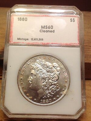 1880-P Silver Philadelphia Morgan Dollar MS BU Clean *eBucks LikeMetals
