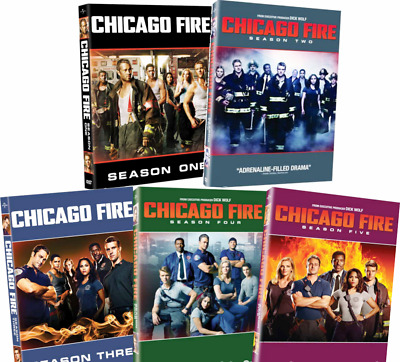 Chicago Fire: The Complete Series Season 1-5