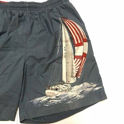 Vintage Polo Sport Ralph Lauren Beach Shorts Sailing