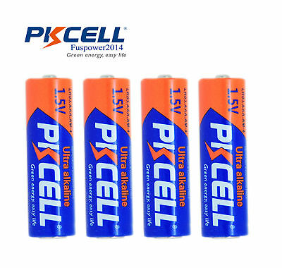 4x PKCELL AAA batteries 1.5V Industrial Procell Alkaline LR03 MN2400