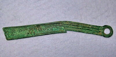 Hartill 4.43 RARE ANCIENT Yan State knife money Spring and Autumn period 400 BC