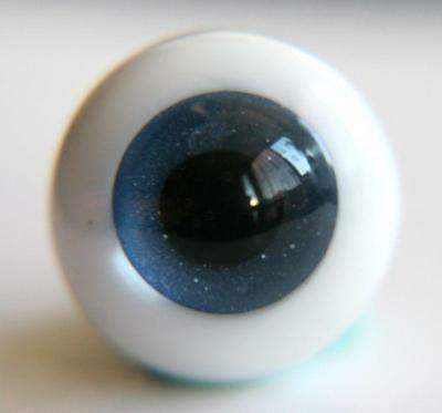 14mm  For BJD DOD AOD MK OK RD Doll Dollfie Glass Eyes Outfit Dark blue