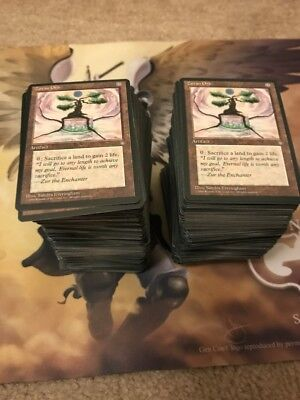 MtG Ice Age complete set! pain lands, Necropotence, multiples available! All NM