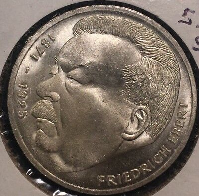 1975J Germany 5 Mark Proof Silver Coin