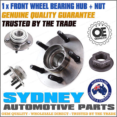 1 x Ford Falcon Brand New Front Wheel Bearing Hub + Nut AU BA BF & Territory RWD