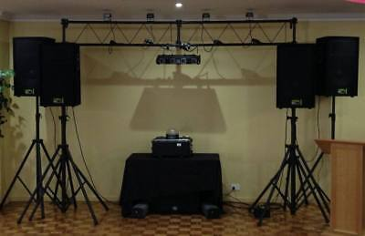 Mobile DJ with WIFI and fully enclosed sign written trailer