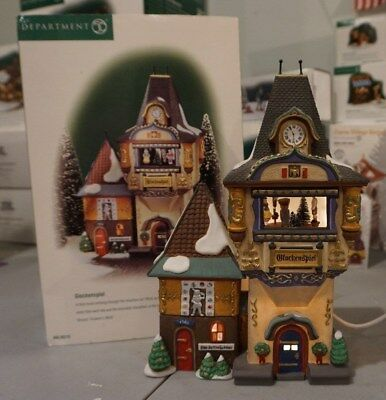 DEPT 56 Alpine Village 56210 GLOCKENSPIEL MUSIC AND MOTION works!