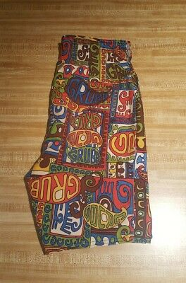 Robert Bruce Vintage Grubb Board Shorts 60s 70s Sz 32 (measured at 30 inches)