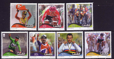 2012 Isle of Man. Victories of Mark Cavandish SG 1759/65 MNH