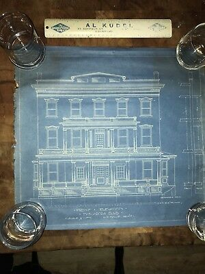 Tuscarora Club lockport NY Complete 1922 Remodel Blue Prints