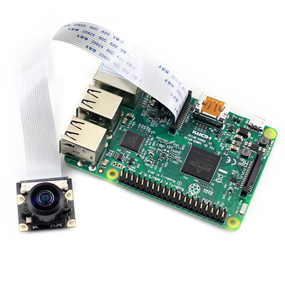 New 160° Wide Angle Camera Module Board 5MP Fish Eye Lenses for Raspberry Pi 3