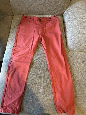 Faded Red Chinos