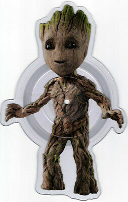 """Guardians Of The Galaxy V 2 Baby Groot shaped 7"""" vinyl in plastic sleeve NEW"""