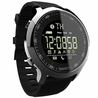 Bluetooth EX18 IP67 Waterproof Smart Watch Pedometer Sport For Android iOS