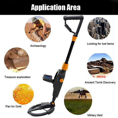MD-1008A LCD Metal Detector Beach Search Machine Underground Gold Digger New