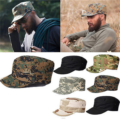 Classic Combat Bdu Field Cap Army Military Style Patrol Hat Cotton Ripstop