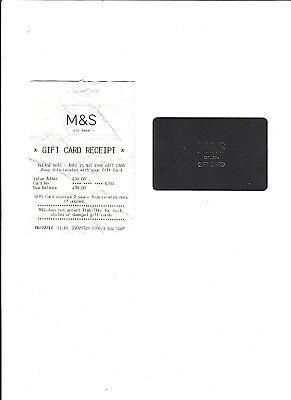 £30 M&s Gift Card - Unwanted Gift - Free Postage