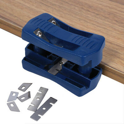 Double Edge Laminate Trimmer Woodworking Tool Steel Blade For Wood Plastic Kit