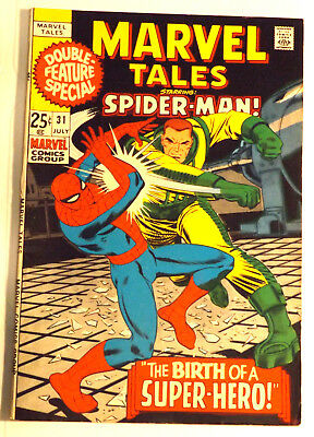 Marvel Comics 1971 Marvel Tales #31 Amazing Spider-Man Vf-/vf Bronze Age Book