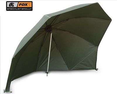 """AUM001 45/"""" NEW 2013 Fox Specialist Fishing Brolly Day Shelter"""