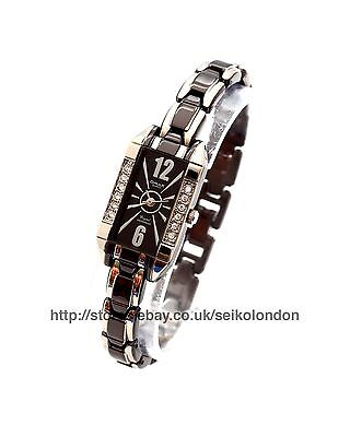 Omax Ladies Art Deco Style Watch, 2-Tone Finish, Seiko (Japan) Movt. RRP £49.99