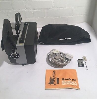 `Sankyo Dualux 2000H Projector (incl Manual and case) - LLT