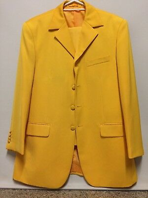 Funky Yellow Mens Suit