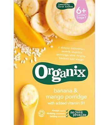 Organix Banana and Mango porridge 120g