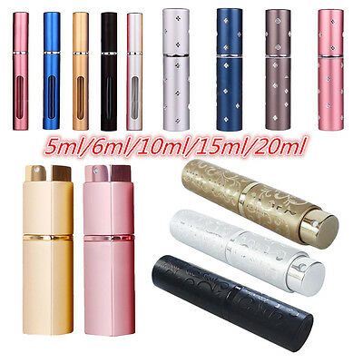 5ML/6ML/10ML/15ML/20ML/30ML Travel Size Perfume Bottle Spray Travel makeup tools
