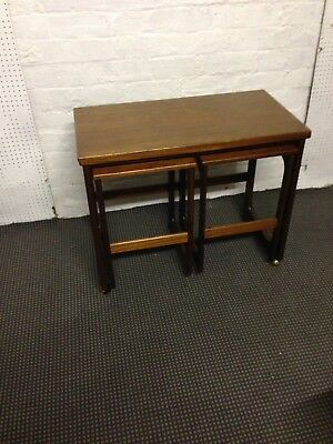 Mid century retro vintage Mcintosh g plan style triform nest of tables