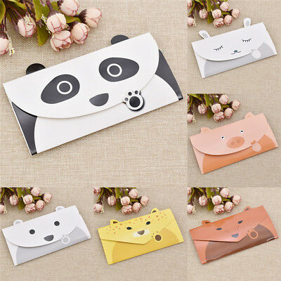 6 Pcs/bag Cute Cartoon Kawaii Paper Animal Envelopes Card Scrapbooking Gifts Pig