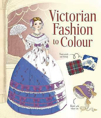 Usborne Victorian Fashion to Colour by Abigail Wheatley NEW (Paperback, 2016)