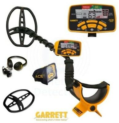 Garrett Ace 400i Metal Detector with Accessories Used Twice