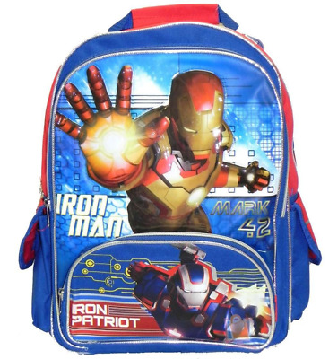 "Backpack - Marvel - Iron Man 3 - Iron Patriot 16"" (Large School Bag)"