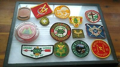BSA Boy Scouts of America Vintage 1957 to 1961 Patch Lot
