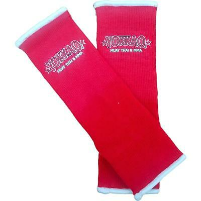 Yokkao Kids Red Ankle  Supports (pair) Muay Thai Protection Anklet