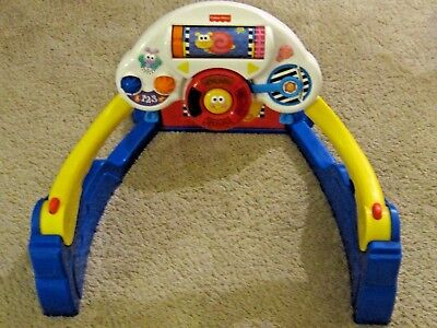 2000 Fisher Price Sit Kick & Play Hands Feet Activity Lights Sounds Music Gym