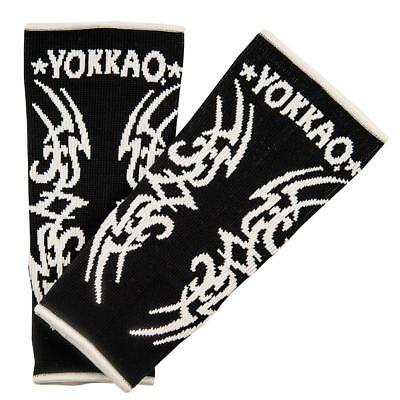 Yokkao Tribal Ankle  Supports (pair) Muay Thai Protection Anklet - Black