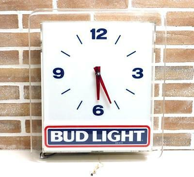 Insegna Beer Bud Light 1989 Vintage Waimea Interior Modernariato Sign Birra