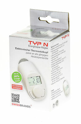 elektronik heizk rper thermostat typ n 2 st ck eur 15 00 picclick de. Black Bedroom Furniture Sets. Home Design Ideas