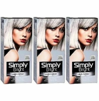 Hair Colour Simply Bright By Mellor & Russell Silver Purple Pink Multi, Cheapest