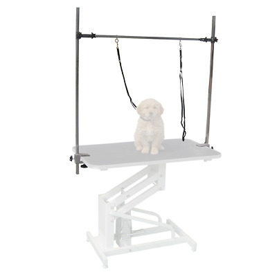 Adjustable Hydraulic Grooming Table  H Bar Spare Arm Clamp Dog Replacement Leash