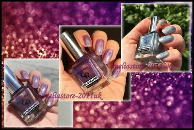 NEW Amazing Holographic Nail Polish 5ml. Golden Rose Choice #05 #03 #06