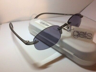 NEW SCOJO GELS Grey Stone Color 100% UV TINTED SUNREADERS Reading Glasses