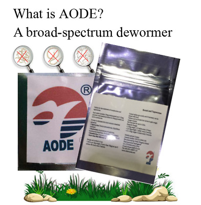 Aode Dewormer 1-150 Caps Tapeworm for  Cats similar to Droncit All wormer