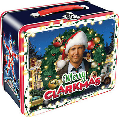 Christmas Vacation Lunch Box National Lampoon's Movie Clark Griswold Novelty