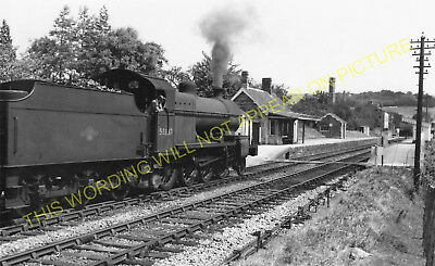 Wellow Railway Station Photo. Midford - Radstock. Bath to Shepton Mallet. (7)