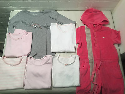 Lot Of 7 Girls Sleepwear Age 7-10 Years - Vr