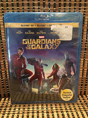 Guardians of the Galaxy 3D (2-Disc Blu-ray, 2014)Marvel Avengers.Vin Diesel.